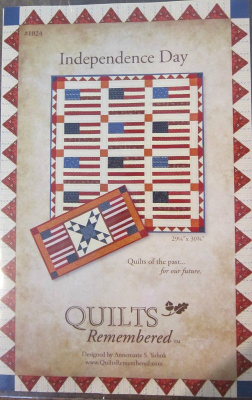 Independence Day by Quilts Remembered