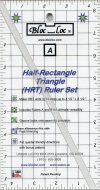 bloc_Loc Half Rectangle Ruler