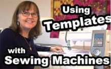 Using Templates with Sewing Machine