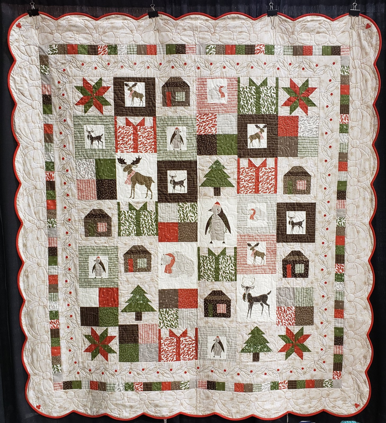 Christmas Fabric 2019.2019 Quilt Show Quilts Group 2 Of 2 Public Pictures Only