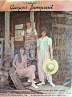 Country Thread Ginger's Jumpsuit Pattern By Ida Beth Barner & Sheri Gravel
