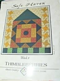 Thimbleberries Safe Haven BLOCK 8 Pattern Booklet #SH 208