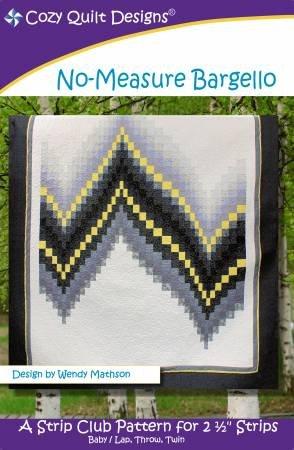 Cozy Quilt Desings No-Measure Bargello Pattern 1516