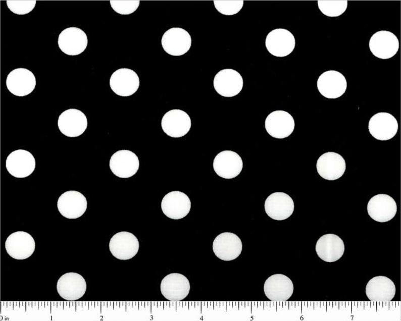 Choice Fabrics Lots of Dots Black