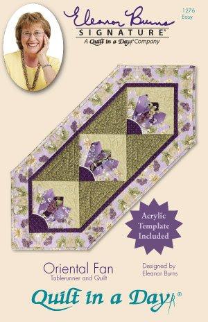 Eleanor Burns Quilt In A Day Oriental Fan #1276 Pattern