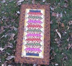 Japanese Lantern Table Runner by Charlene Lindenmayer for The Quilters Box