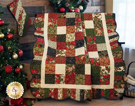 Shabby Fabric Holiday Charm Pattern SF48519