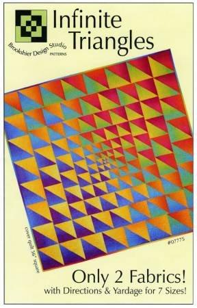 Brookshier Design Studio Infinite Triangles Pattern