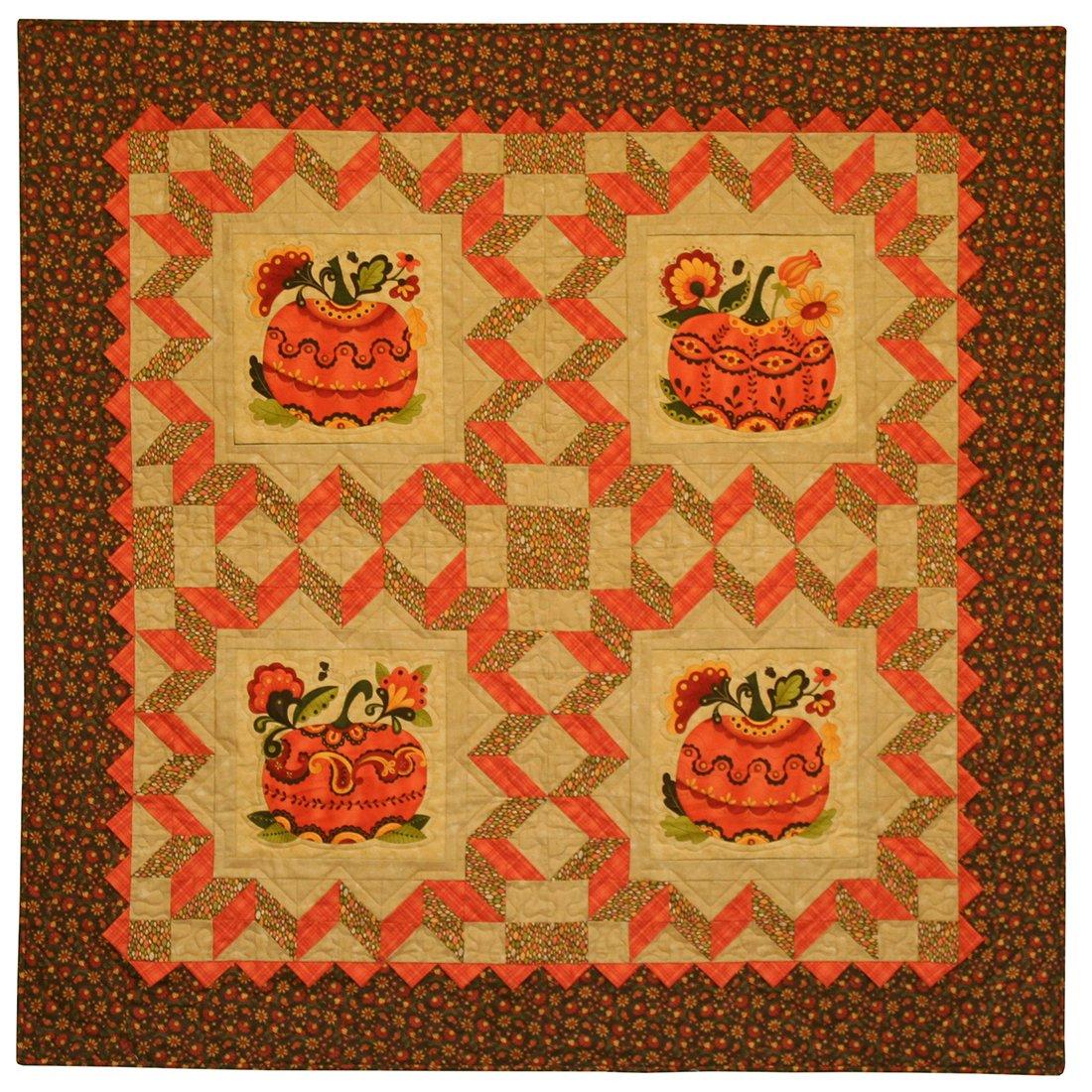 Pieces From My Heart, Sandy Gervais Posh Pumpkins Pattern #571
