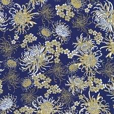 Chong-A Hwang for Timeless Treasures Sakura CM6160 Royal