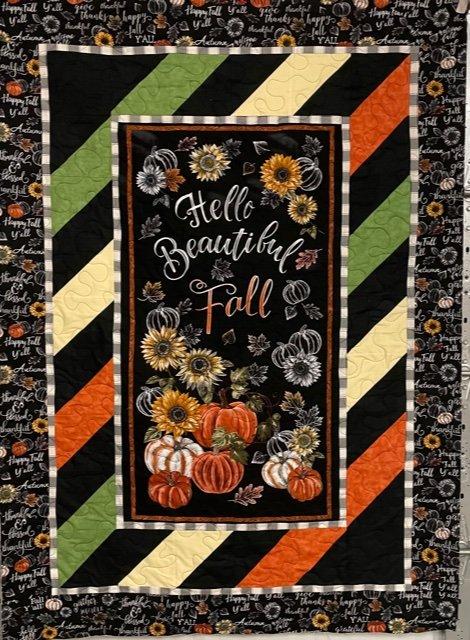 Hello Beautiful Fall Quilt Kit