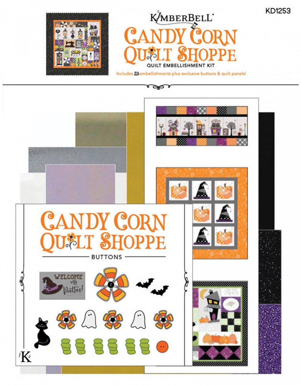 Candy Corn Quilt Shoppe Embellishment Kit