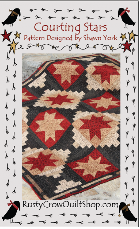 Courting Stars Quilt Kit