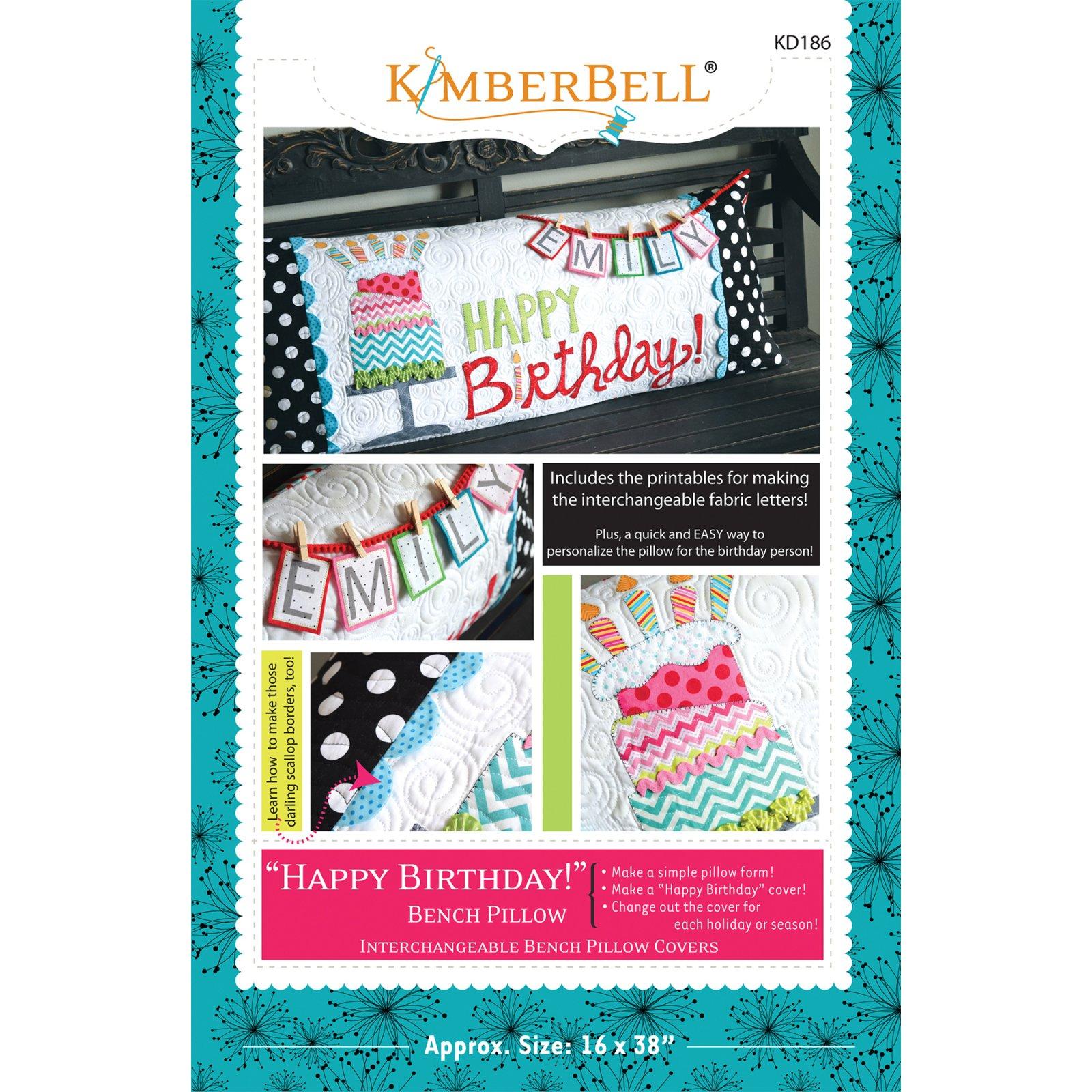 Kimberbell Happy Birthday Pillow