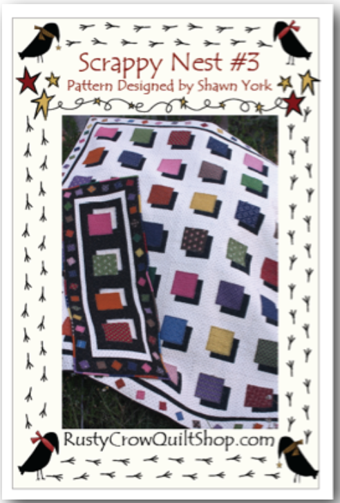 Scrappy Nest Quilt Kit