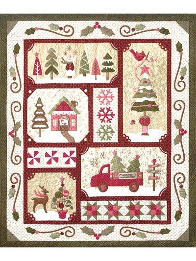 Sew Merry Quilt Kit