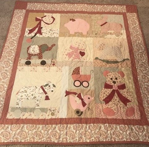 Sweet Dreams Lily Quilt kit