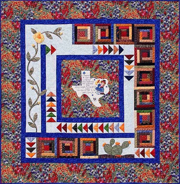 Texas Quilt Kit by Tricia Cribs