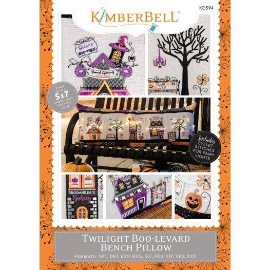 Twilight Boo-levard Bench Pillow Kit