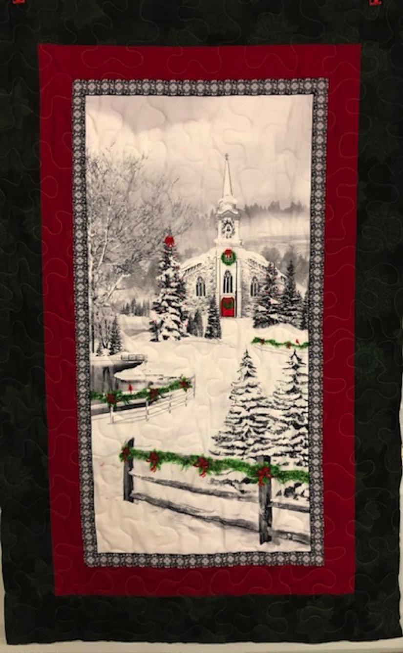 White Church Quilt Kit