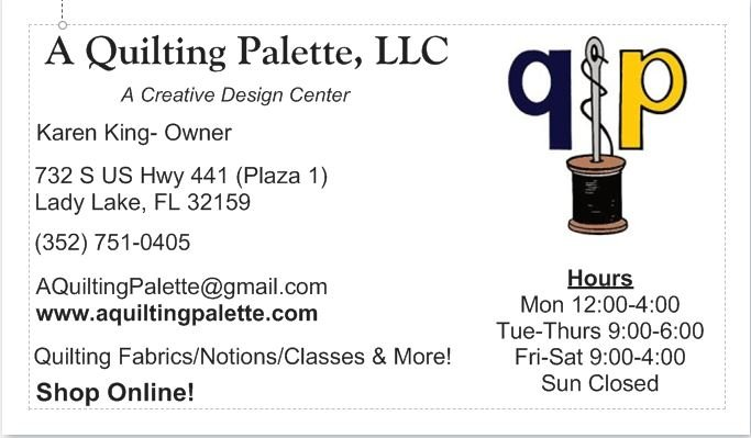 A Quilting Palette