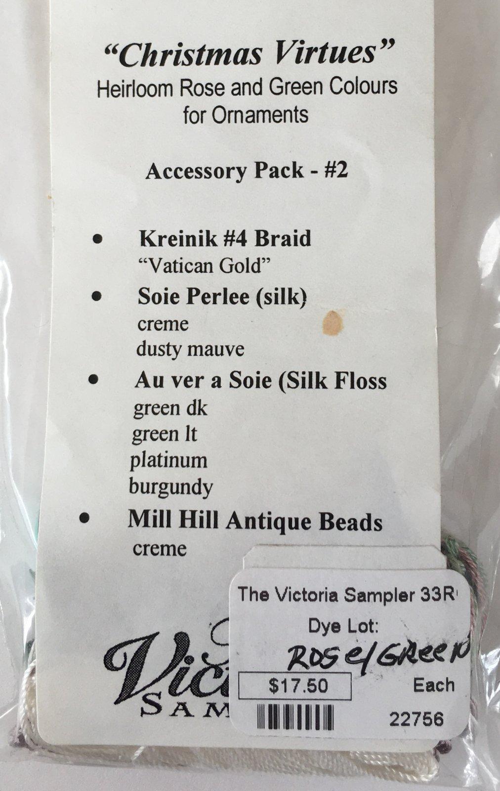 The Victoria Sampler 33 #2 AP