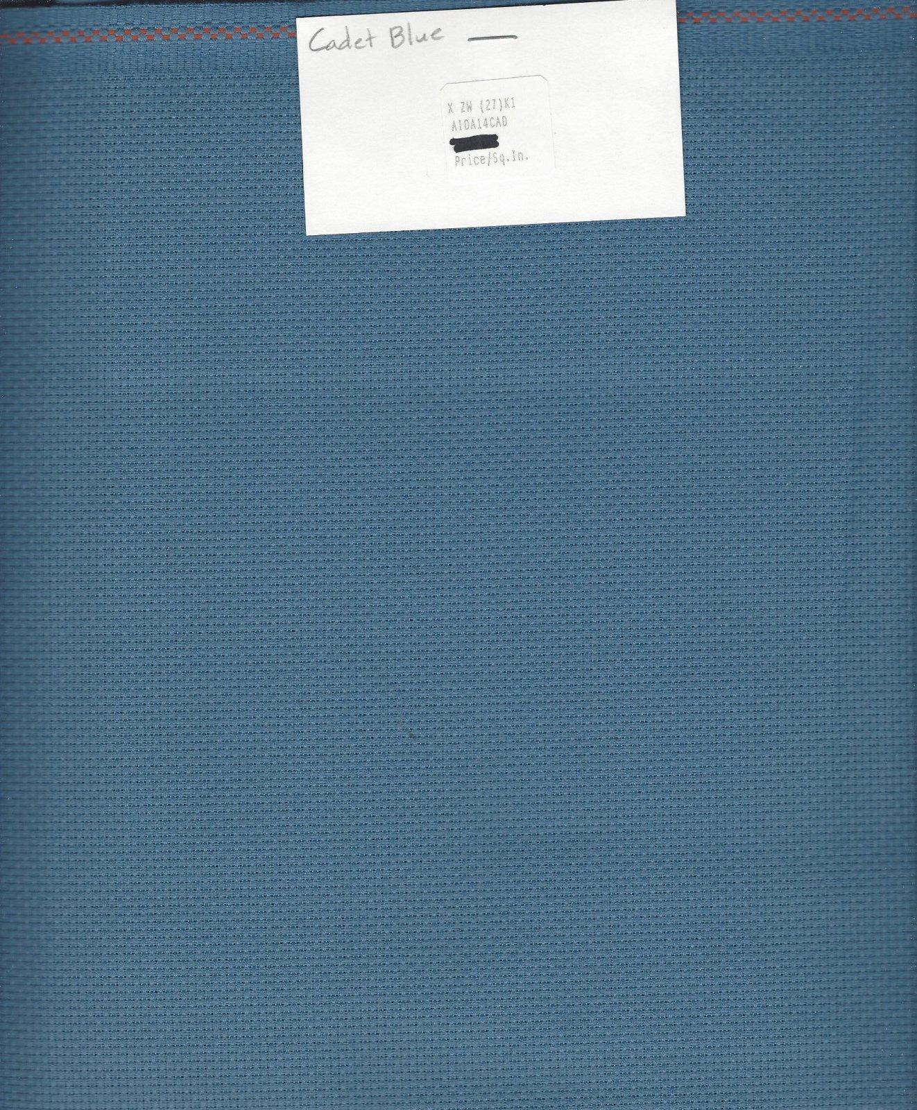 Aida 14ct Cadet Blue (discontinued color)