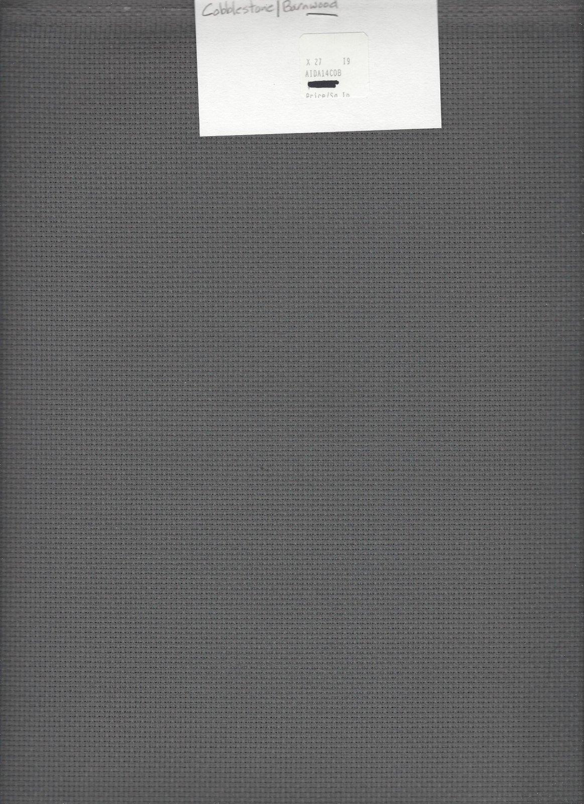 Aida 14ct Cobblestone/Barnwood (discontinued color)