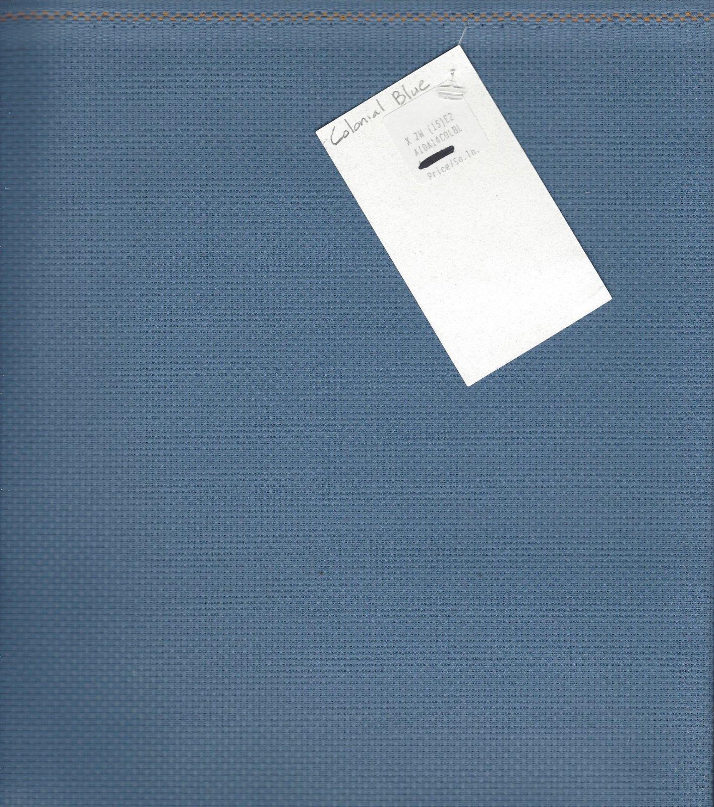 Aida 14ct Colonial Blue (discontinued color)