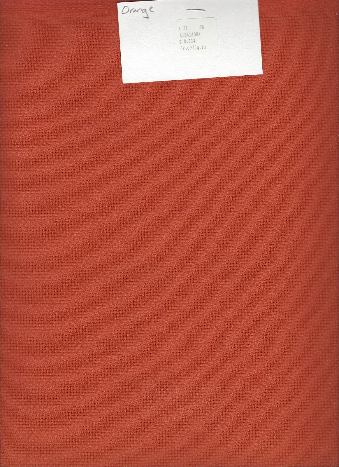 Aida 14ct Orange (discontinued color)