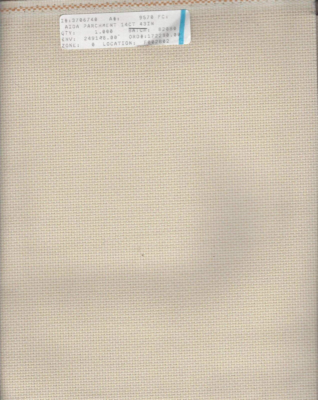 Aida 14ct Parchment