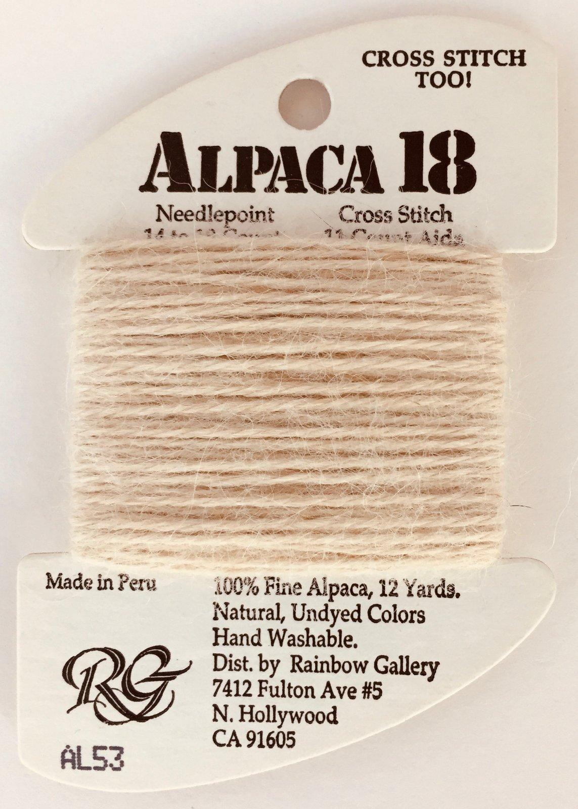Alpaca 18 AL53 (discontinued color)
