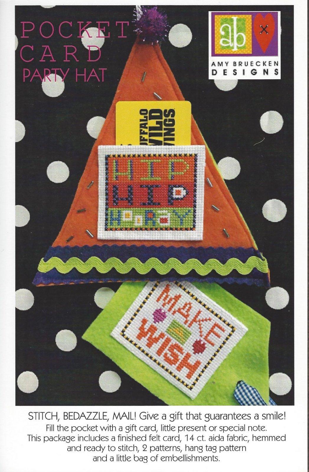 Amy Bruecken Pocket Card Party Hat