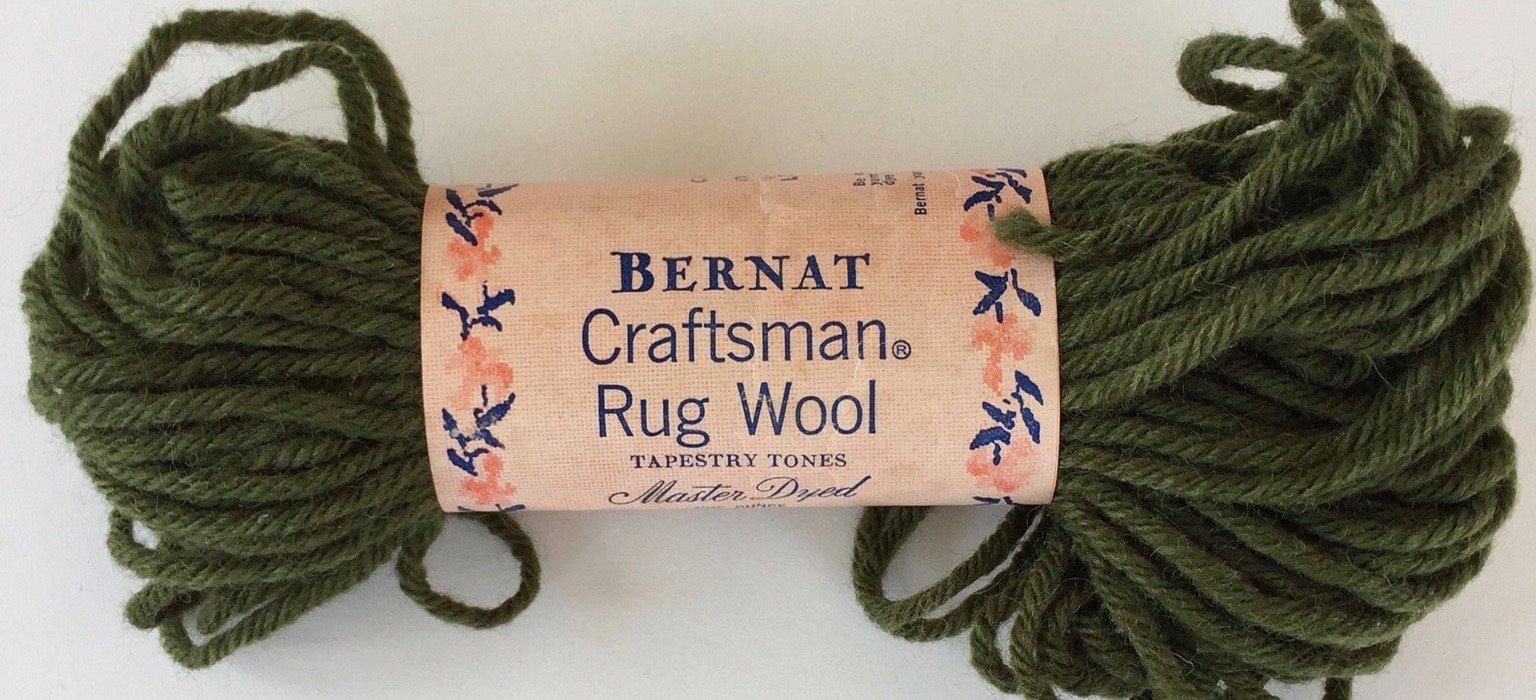 Bernat Craftsman Rug Wool: Color 3198 Dye Lot J