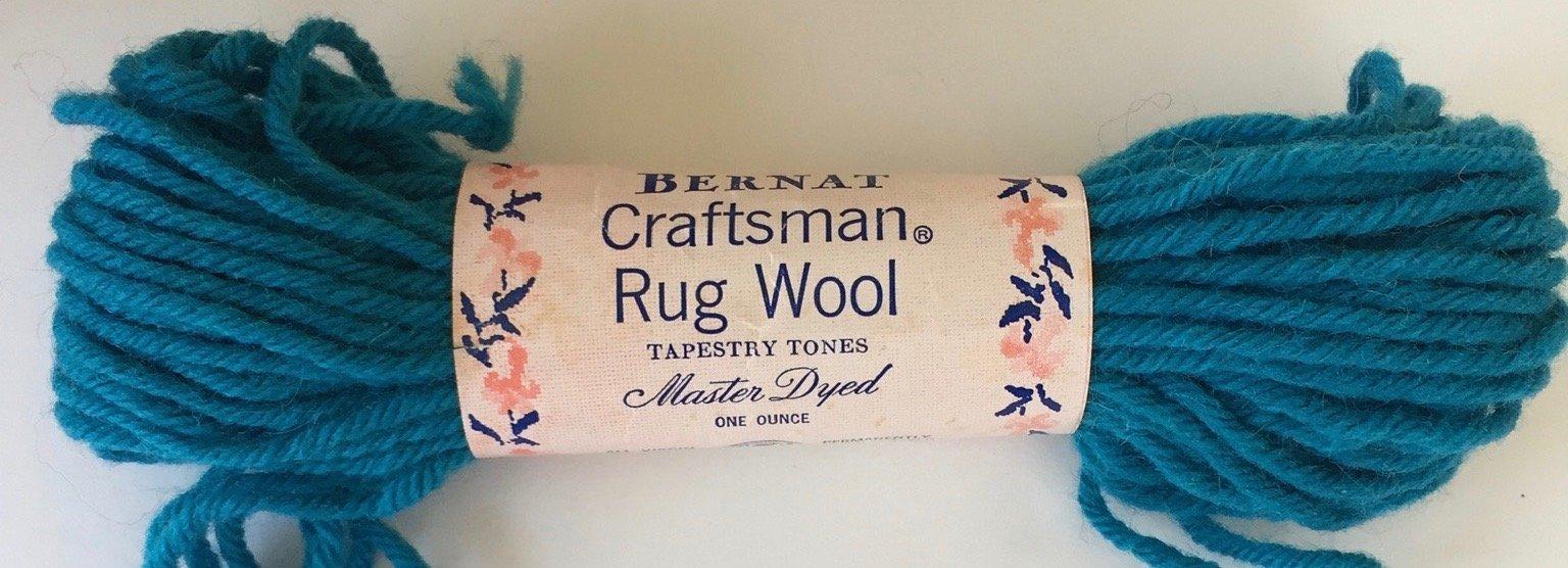 Bernat Craftsman Rug Wool: Color 3145 Dye Lot HB