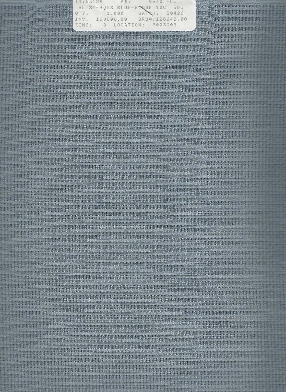 Betsy Ross 10ct Blue Ridge (discontinued color)