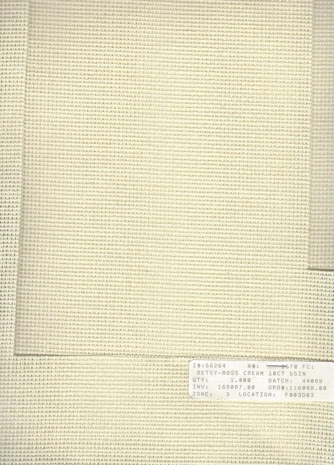 Betsy Ross 10ct Cream (discontinued color)