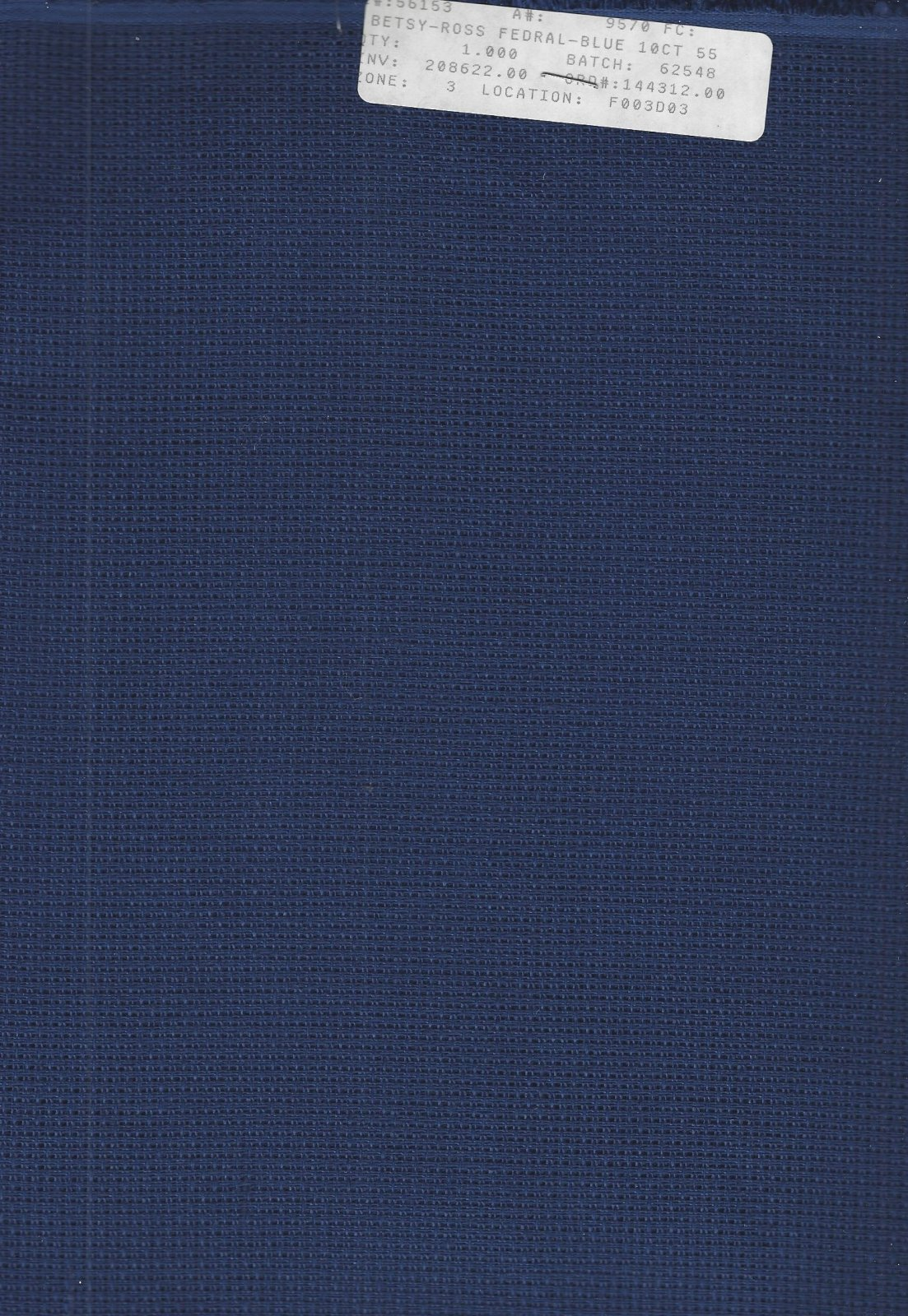 Betsy Ross 10ct Federal Blue (discontinued color)