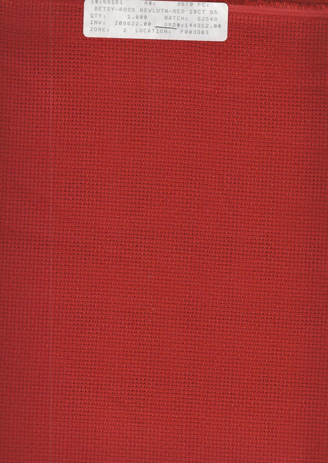 Betsy Ross 10ct Revolutionary Red
