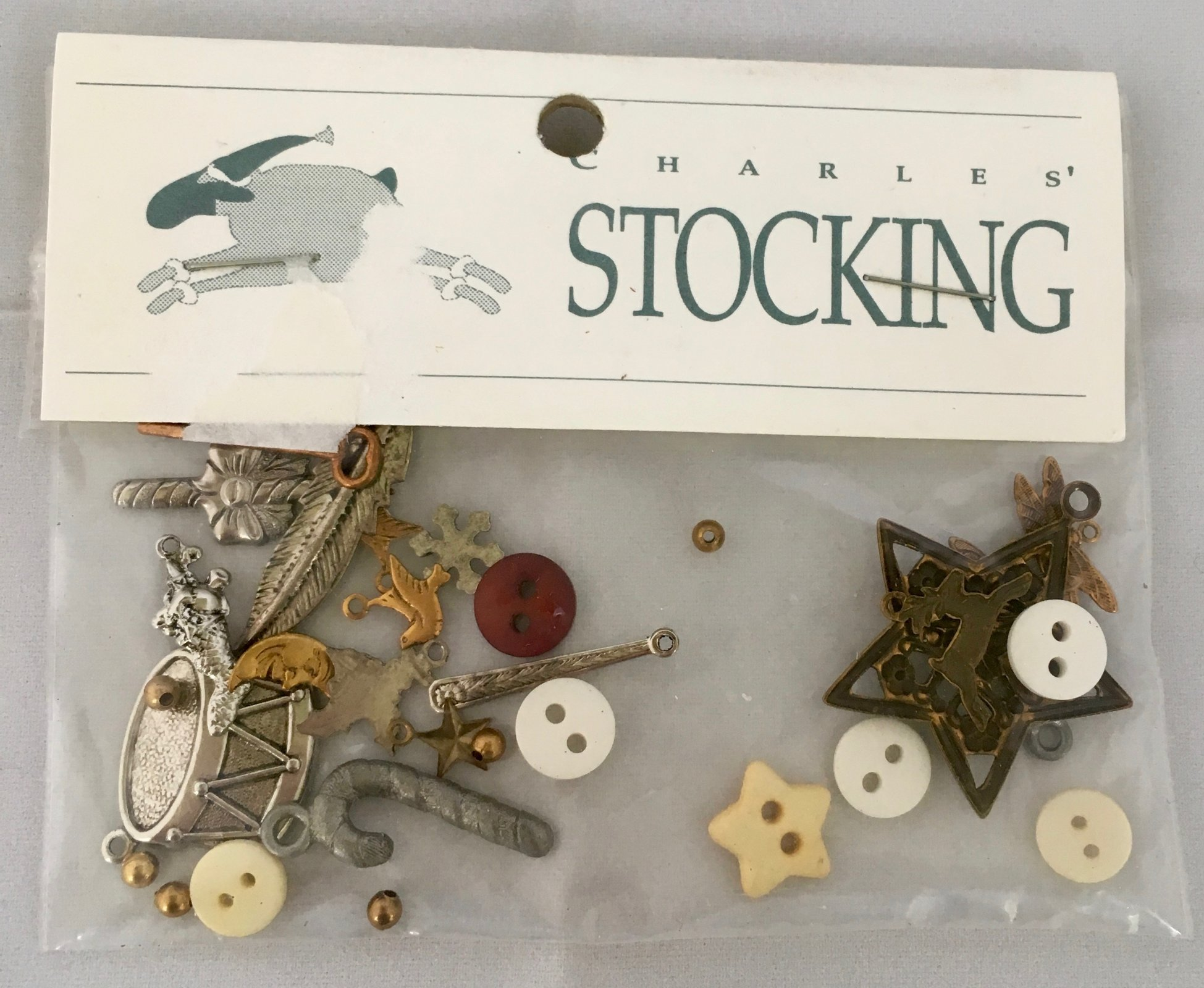 Shepherd's Bush Charles' Stocking Embellishments