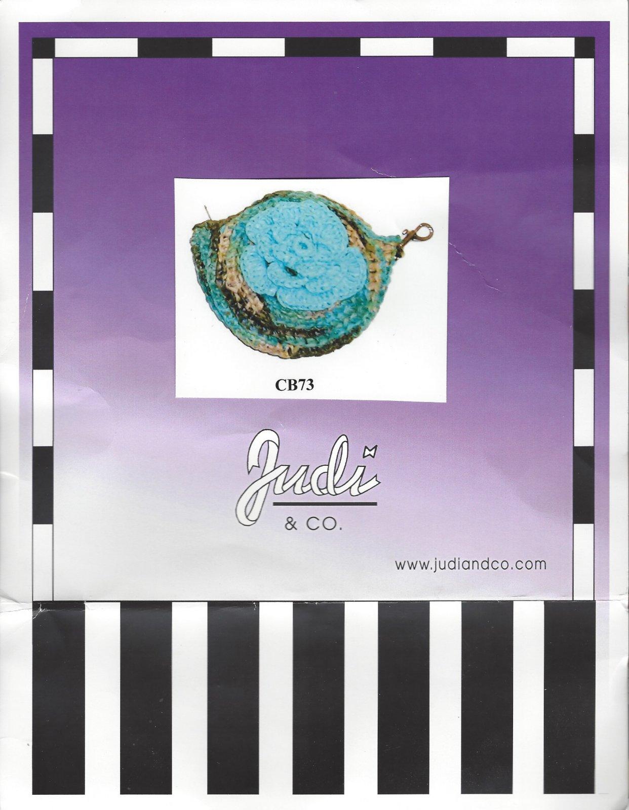 Judi: Crochet Coin Purse/Key Ring Kit