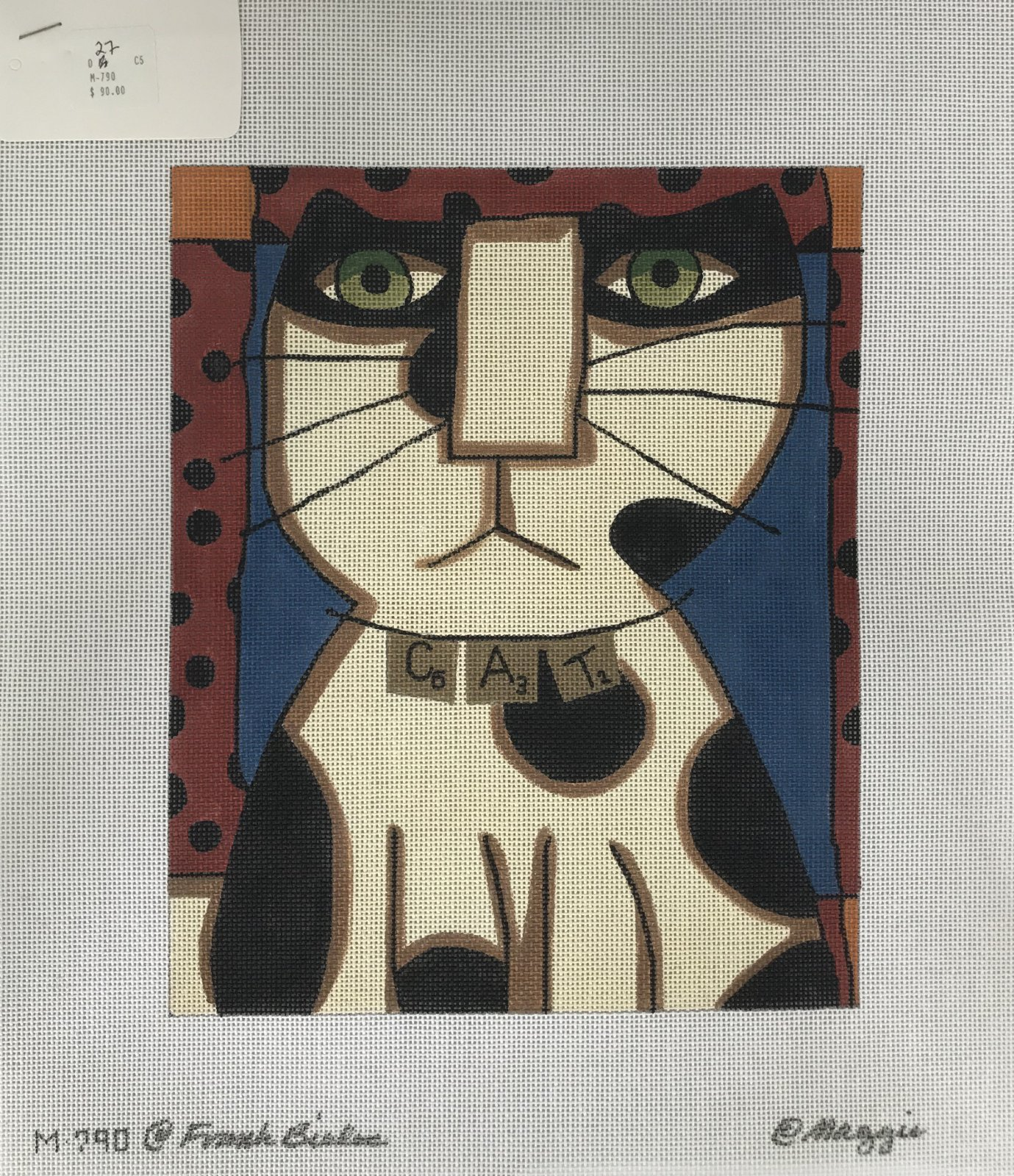 Frank Bielec/Maggie & Co: Cat Scrabble M-790