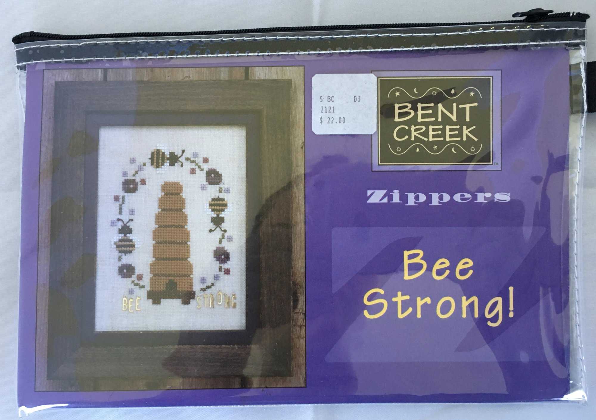 Bent Creek: Bee Strong Zipper Kit