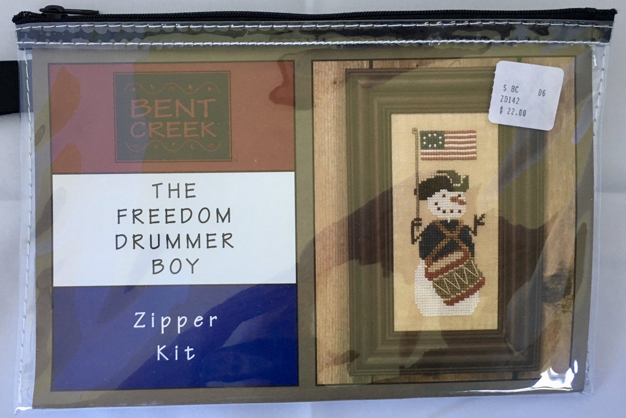 Bent Creek: The Freedom Drummer Boy Zipper Kit
