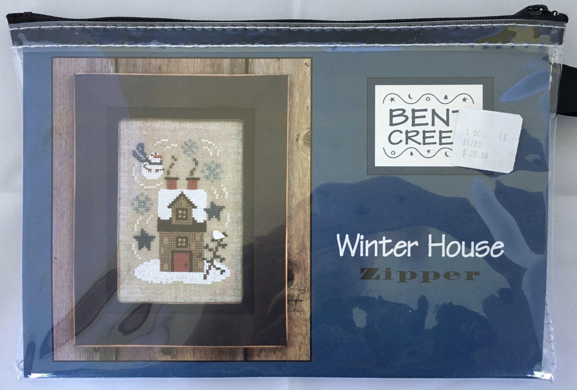 Bent Creek: Winter House Zipper Kit
