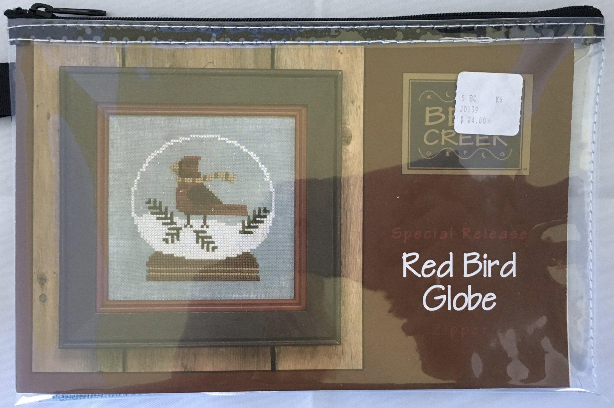 Bent Creek: Red Bird Globe Zipper Kit