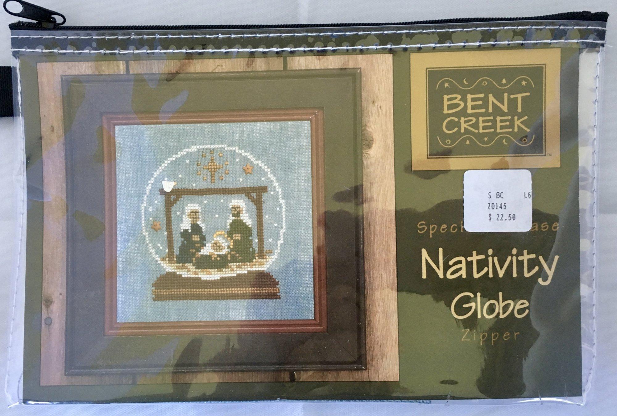 Bent Creek: Nativity Globe Zipper Kit