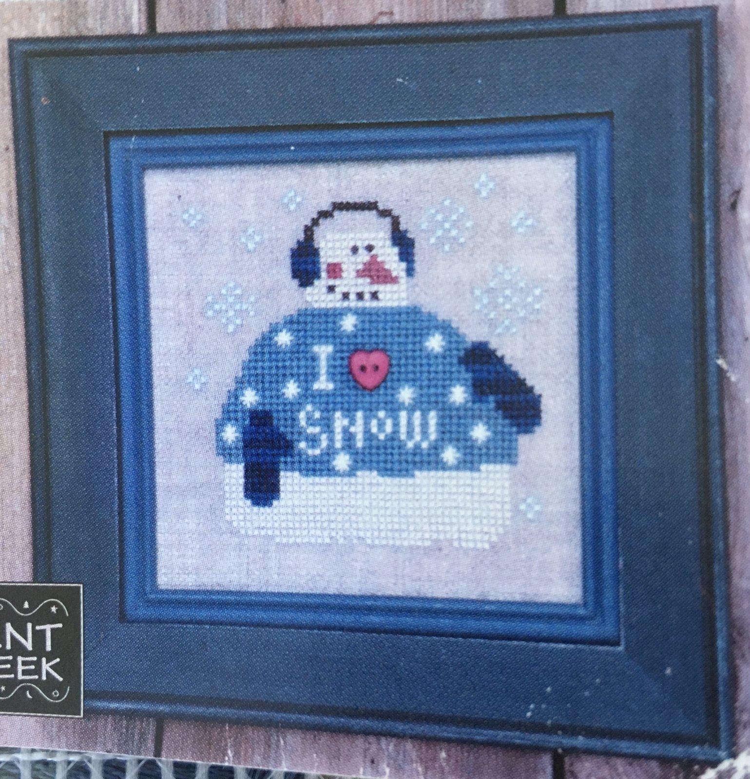Bent Creek: I Love Snow Zipper Kit