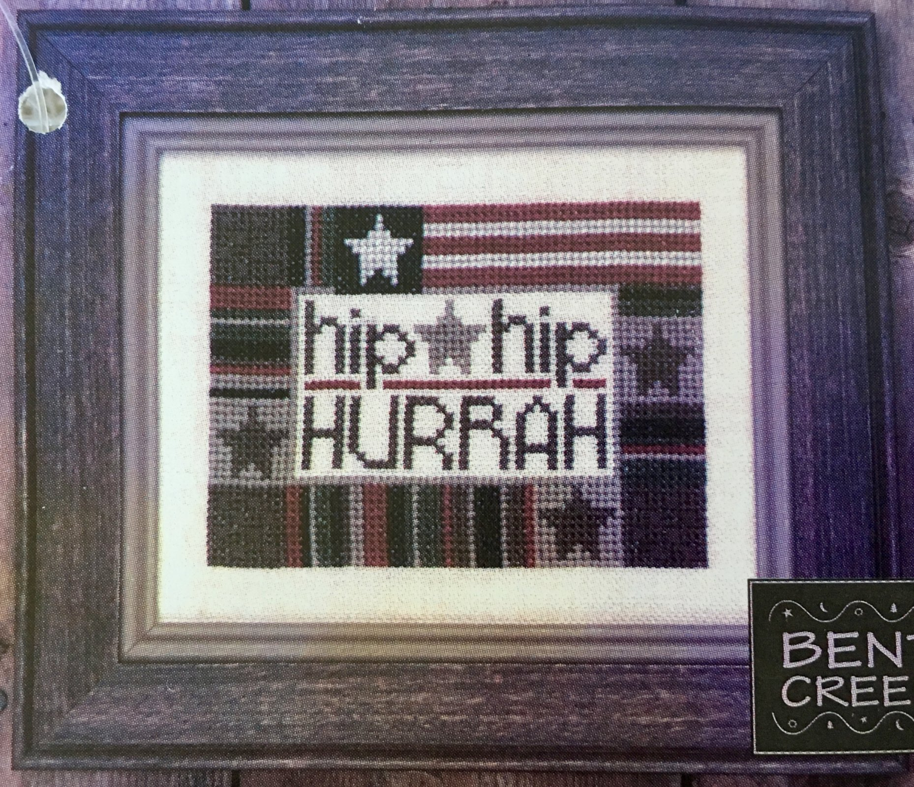 Bent Creek: Hip Hip Hurrah Zipper Kit