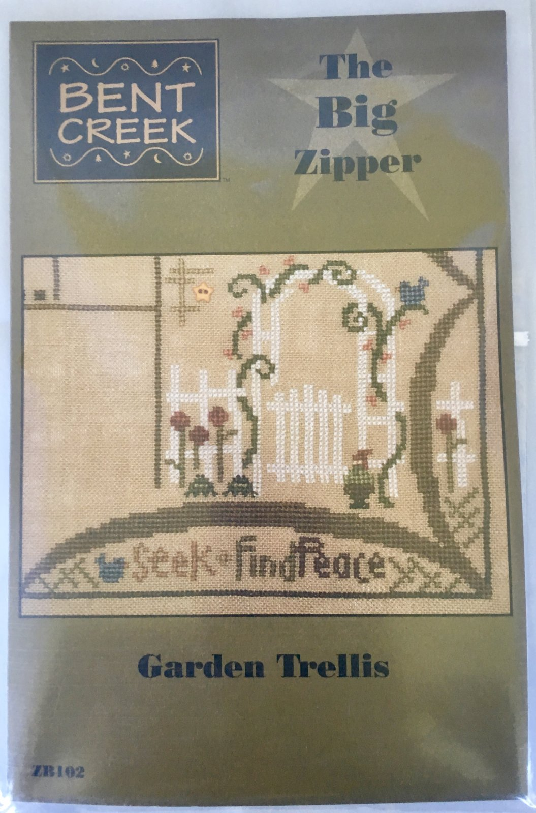 Bent Creek: Garden Trellis Big Zipper Kit ZB102